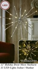 "12"" Holiday Christmas Decor Starburst 32 Led Lights Indoor / Outdoor"