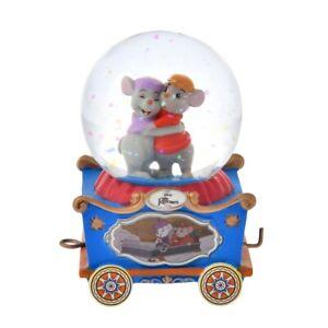 Disney Bianca & Bernard Snow Globe Mini Trolley Steamboat Willie