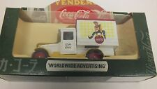 Coca-Cola Truck 1928 Chevrolet Box Van Worldwide Advertising MIB RC.77