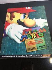 Super Mario 64 Nintendo Players Guide Magazine