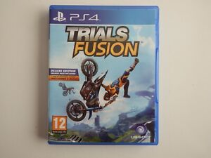 Trials Fusion: Deluxe Edition on PS4 in MINT condition