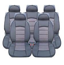 5x Sitze LUX Grau Autositzauflage Auflage Autositz Schutz Sitzschutz  für
