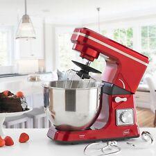 Neo rouge cuisson électrique Support MIXEUR 5L 6 SPEED acier inoxydable Bol