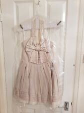 Topshop Jones & Jones Halterneck Bow  Christmas Party Dress Size 10 - 12