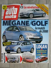 Revue Action  AUTO MOTO - Novembre 2007 N° 150 - Match Megane / Golf