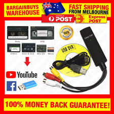 USB 2.0 Capture Card Convert VHS LP Tape to Digital DVD