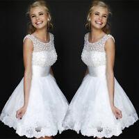 2019 NEU Hochzeitskleid Brautkleid Kleid Braut Cocktailkleid Abendkleid BC282