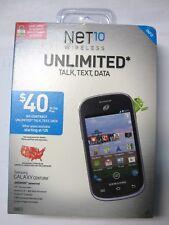 Net10 Samsung Galaxy Centura Prepaid Android Smartphone Camera Video GPS NEW
