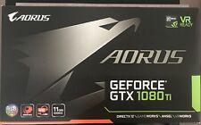 Gigabyte NVIDIA GeForce GTX 1080Ti AORUS 11GB VRAM GDDR5X 352bits