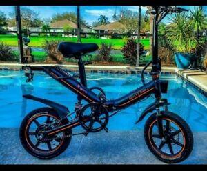 folding electric bike 500w,48v,10AH. battery, Cruise control, App enable.