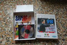 Lotto Giochi Pc Retrogame Kick Off 96 e 98 Cd rom calcio sportivo