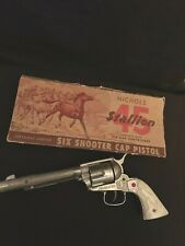 Nichols Stallion Toy Antique Rare Cap Gun replica Colored Marking Pistol Usa