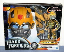 TRANSFORMERS Dark Of The Moon - BUMBLEBEE Autobot - ROBO-POWER COSTUME NIB