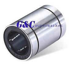 12pcs LM8UU 8mm 8x15x24mm Linear Ball Bearing Bush Bushing 8mmx15mmx24mm