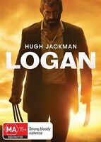 Logan DVD NEW Hugh Jackman Region 4 SEALED