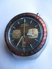 Cronografo Seiko referenza 6138-0011 Bullhead, ghiera marrone
