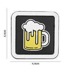 Bier #7101 Patch Klett Abzeichen Airsoft Paintball