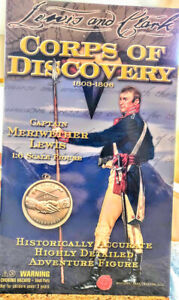 Capt. Meriwether Lewis Corps of Discovery 1:6 Scale Figure MIP