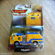 Disney Planes FIRE & RESCUE PULASKI Fire Truck Engine diecast Piston Peak Air 2