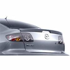 Pre-Painted for 2004-2009 MAZDA 3 SEDAN Factory-Style Lip Mount Rear Spoiler New