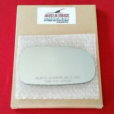 NEW Mirror Glass + ADHESIVE 03-11 SAAB 9-3 9-3x 93 9-5 95 Passenger Right Side
