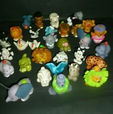 Fisher Price Little People Lot 30 Animal Figures Circus, Zoo, Pets