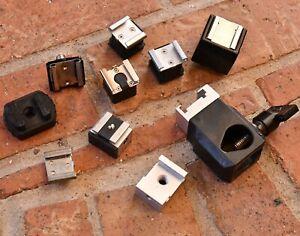 Flash Mount Parts pieces SHOES LOT set NO TTL Strobist Misc universal