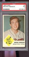 1963 Fleer #4 Brooks Robinson Baltimore Orioles NM PSA 7 Graded Baseball Card