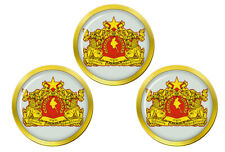Burma Myanmar Golf Ball Markers