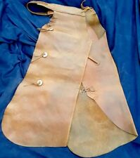 Antique H.H. Heiser Batwing Chaps western leather cowboy two pocket concho