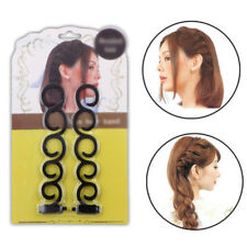 2x French Hair Accessory Braiding Hook Magic Twist Styling Roller Bun Maker HOT