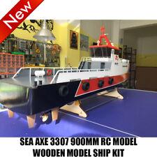 Holz RC Schlachtschiff SEA AX 3307 Modell Schiffssatz 900mm ferngesteuert Schiff