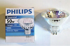 Philips EXN 50W 12V MR16 FL36 2 Pin Halogen Flood Light Bulb No Glass