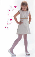 White Transparent Tights First Holy Communion Bridesmaid Girl Party Pantyhose T6