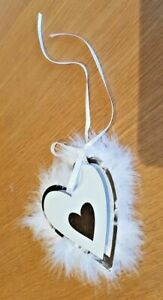 Love hearts gift tags Cards Name Luxury layered Heart Wedding Birthday Valentine