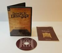 Dungeon Designer Pro PC CD-Rom 2003 Windows Add-On for CC2 Pro Free Shipping