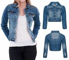 Denim Button Other Coats & Jackets for Women