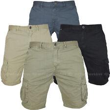 Bermuda Uomo Cargo Pantaloni corti con Tasche Laterali Shorts Tasconi 15571