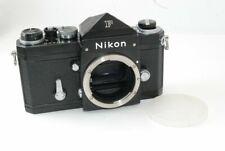 Nikon F eye level Black 35mm Film SLR Camera Body Only Very good!! 20016091