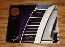 Original 1986 Mercedes Benz Full Line Sales Brochure 86 190 300 S Class
