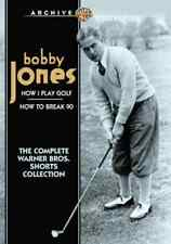 Golf: Bobby Jones: How I Play Golf / How to Break 90: The Complete NEW DVD
