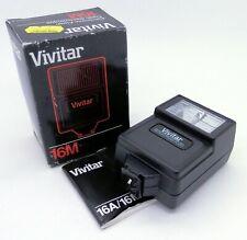 Vivitar 16M Shoe Mount Flash - Tested & Fully Working, UK Dealer