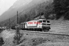 PHOTO  ITALY - FS LOCO NO E633 021 NEAR BRENNERO AUG 87