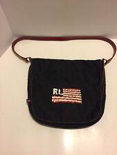 Ralph Lauren Polo Jeans Co Purse Navy Sequin Flag Shoulder Bag