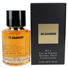 Jil Sander No. 4 by Jil Sander for Women EDP Perfume Spray 3.4 oz. New in Box