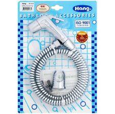 Bum Gun Water Toilet Kitchen Sprayer Bathroom Bidet Hand Held Shower Chrome PVC