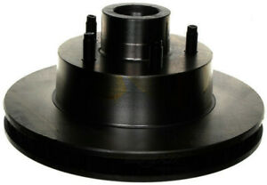 Disc Brake Rotor and Hub Assembly-Non-Coated Front ACDelco 18A14A
