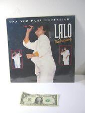 Vintage Spanish Music Album  - Lalo Rodriguez  - Una Voz Para Escuchar 1990
