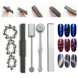 3D Cat Eye Magnetic Stick Strong Magnet Effect For Nail Gel Polish Nail Art Tool