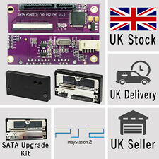 Sony PlayStation 2 PS2 SATA Upgrade Kit for Original Network Official Adaptor!